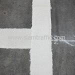 งานตีเส้นถนนโรงแรมดุสิตธานี
