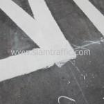 วัสดุสีเทอร์โมพลาสติกที่ห้ามจอดในอาคารจอดรถโรงแรมดุสิตธานี(สีลม)