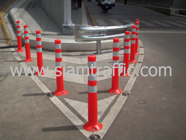 Traffic Pole at Siriraj Hospital