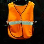 เสื้อกั๊กเซฟตี้สีส้มด้านหน้า