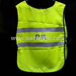 เสื้อจราจร PTT CHEM ด้านหลัง