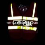 เสื้อเซฟตี้สะท้อนแสงกู้ภัยด้านหน้าสะท้อนแสง