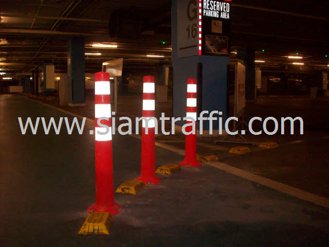 Traffic Pole at Central World