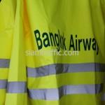 เสื้อฝนจราจร บริษัท การบินกรุงเทพ จำกัด
