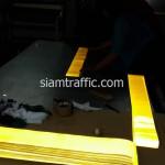สติ๊กเกอร์สะท้อนแสงสีเหลืองเกรด Engineer