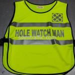เสื้อสะท้อนแสง safety Hole Watch Man