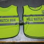 เสื้อจราจรสะท้อนแสง Hole Watch Man