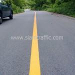 ตีเส้นถนนด้วยวัสดุเทอร์โมพลาสติก ทางหลวงหมายเลข 1154 และ 1022 จังหวัดแพร่