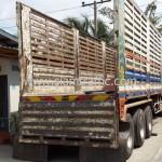 รถบรรทุกสำหรับขนส่งสีเทอร์โมพลาสติก