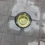 หมุดลูกแก้วสะท้อนแสง 360 องศา สีเหลือง