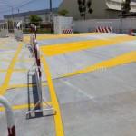 งานจ้างเหมาตีเส้นสีเทอร์โมพลาสติก Bridgestone Bandag นิคมอมตะนคร