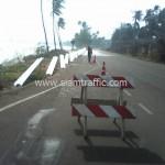 งานจ้างเหมาทำการติดตั้ง guardrail จังหวัดชุมพร