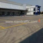 บริการเหมาตีเส้น WHA Mega Logistic Center บางพลี