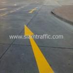 ตีเส้นลานจอดรถ WHA Mega Logistic Center บางพลี