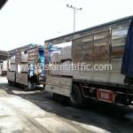 สีตีเส้นถนนส่งออกไปประเทศพม่า
