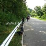 guardrail แขวงทางหลวงสุโขทัย กรมทางหลวง