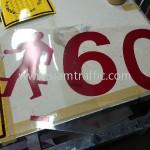 การทำแบบป้ายจราจร National Road 56 (NR56) ประเทศกัมพูชา