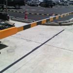 ไม้กั้นรถยนต์ ติดตั้งที่นิคม 304 จังหวัดปราจีนบุรี