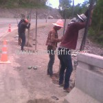 safety guard rail ศูนย์สร้างทางหล่มสัก ปริมาณรวม 7,500 เมตร