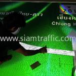 มาตรฐานป้ายบอกทาง สะพานมิตรภาพน้ำเหืองไทย-ลาว ท่าลี่ เชียงคาน