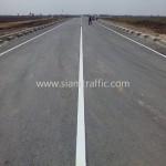 เส้นถนนสีเหลือง นิคมอุตสาหกรรมเอเซีย