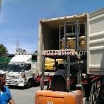 สีเส้นถนน ส่งออกไปประเทศกัมพูชา