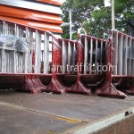 ขายแผงกั้นจราจร การไฟฟ้าฝ่ายผลิตแห่งประเทศไทย หรปม-ฟ. C001----C100