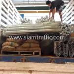 รถบรรทุกขึ้นการ์ดเรลไปยังประเทศกัมพูชา