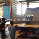 Transport guardrail to Cambodia
