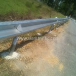 w-beam guardrail แขวงการทางประจวบคีรีขันธ์(หัวหิน) กรมทางหลวง