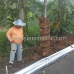 galvanized guard rail w beam แขวงทางหลวงแพร่ Class II Type I ความหนา 2.50 มม.