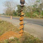 galvanized guard rails w beam แขวงทางหลวงตราด ทางหลวงหมายเลข 3 ตอนควบคุม 0701 ตอน บ้านพลิ้ว – แม่น้ำเวฬุ