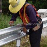 งานจ้างเหมาทำการงาน w beam guardrail แขวงทางหลวงฉะเชิงเทรา ปริมาณงาน 1,152 เมตร