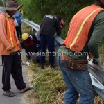 งานจ้างเหมาทำการงาน w-beam guard rails แขวงทางหลวงฉะเชิงเทรา ปริมาณงาน 1,152 เมตร