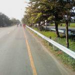 w beam guard rail ทางหลวงหมายเลข 4 ตอนควบคุม 0401, 0402 ตอน ห้วยชินสีห์ - ปากท่อ – สระพัง แขวงทางหลวงสมุทรสงคราม