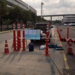 safety sign and traffic equipment at toyota motor thailand vl samrong plant