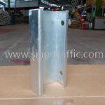 Blockout lip channel steel สำหรับติดตั้งการ์ดเรล DWG NO. RS-605