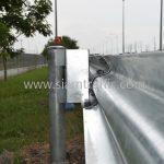 w-beam guard rails ตามแบบมาตรฐานกรมทางหลวง เลขที่ DWG.NO.RS-603 แขวงทางหลวงพิเศษระหว่างเมือง ทางหลวงพิเศษหมายเลข 7 ตอน บางปะกง – หนองรี ปริมาณงานรวม 1,572.00 เมตร