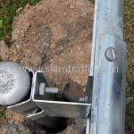 guardrails ตามแบบมาตรฐานกรมทางหลวง เลขที่ DWG.NO.RS-605 แขวงทางหลวงพิเศษระหว่างเมือง ทางหลวงพิเศษหมายเลข 7 ตอน บางปะกง – หนองรี ปริมาณงานรวม 1,572.00 เมตร