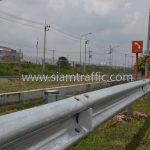 w-beam guard rails ตามแบบมาตรฐานกรมทางหลวง เลขที่ DWG.NO.RS-605 แขวงทางหลวงพิเศษระหว่างเมือง ทางหลวงพิเศษหมายเลข 7 ตอน บางปะกง – หนองรี ปริมาณงานรวม 1,572.00 เมตร
