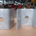 steel plate สำหรับติดตั้งราวกันอันตราย DWG NO.RS-603