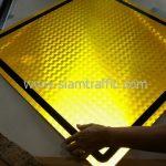 Steep descent warning street sign export to Yangon Myanmar