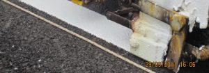 การตีเส้นถนนด้วยสีเทอร์โมพลาสติก