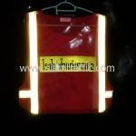 เสื้อสะท้อนแสงโรงไฟฟ้าแก่งคอยด้านหลังสะท้อนแสง