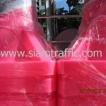 กรวยสีชมพูขนาดสูง 100 เซนติเมตรแพ็คมัดละ 10 ใบ