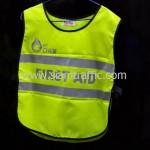 เสื้อกั๊กเซฟตี้ PTT CHEM FIRST AID ด้านหน้า