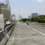 ตีเส้นสะพานไทย เบลเยี่ยม รับตีเส้นถนน