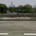 ตีเส้นจราจรสะพานไทย เบลเยี่ยม รับตีเส้นถนน