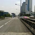 รับตีเส้นถนน ตีเส้นสะพานไทย เบลเยี่ยม