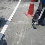 รับตีเส้นจราจรและติดหมุดสะท้อนแสง ตีเส้นถนนสะพานไทย เบลเยี่ยม